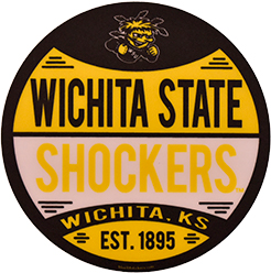 Image For Blue 84 Wu Shock® Wichita State™ Decal