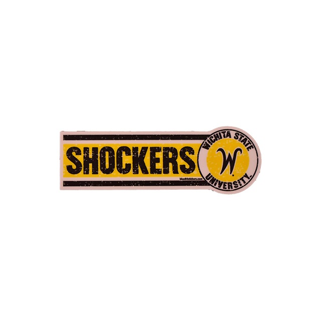 Image For Blue 84 Shockers® Decal