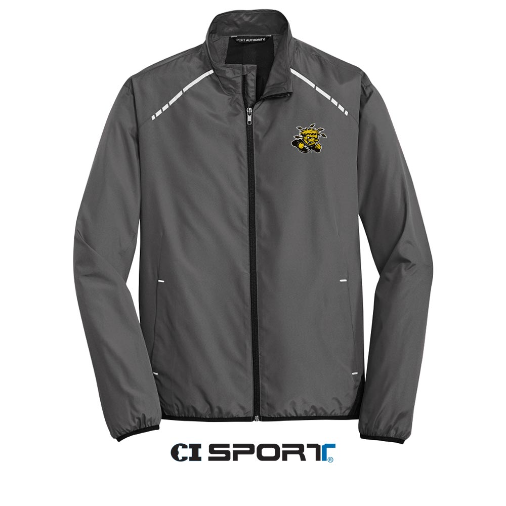 Image For CI Sport® WuShock® Gray Reflective Full-Zip Jacket