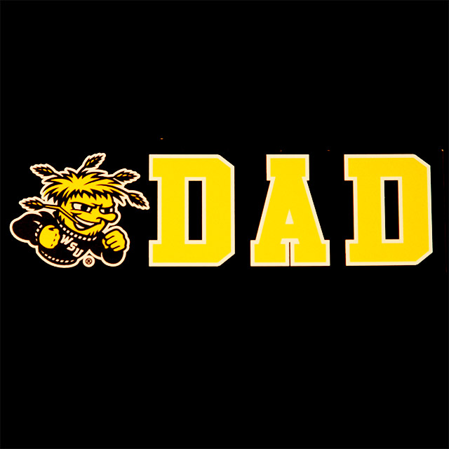 Image For Clear WuShock® Dad Decal