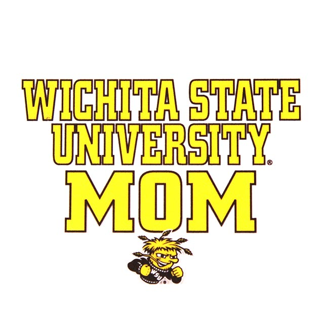 Image For Wichita State University™ Mom WuShock® Clear Decal