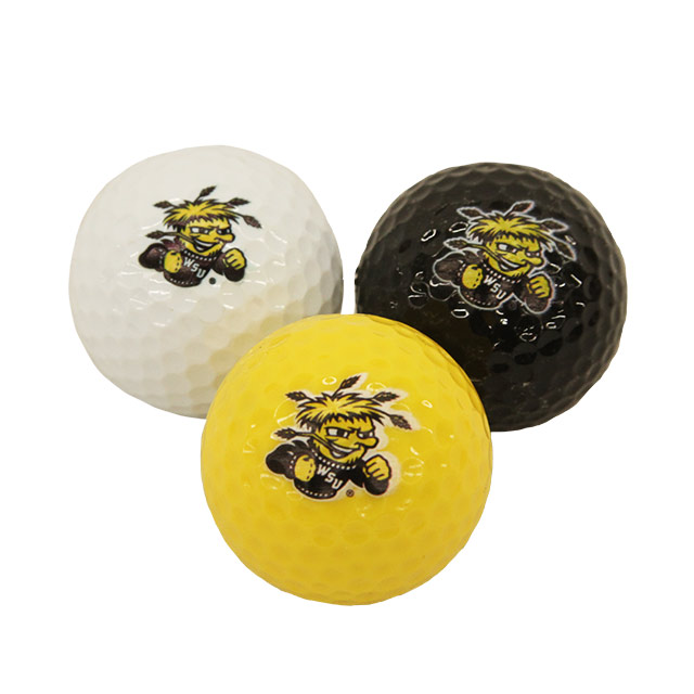 Image For Team Golf 3-Pack WuShock® Golf Balls