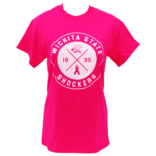 Image For WuShock® Pink Breast Cancer Awareness T-shirt