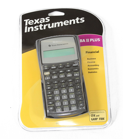 Image For TI BAII Plus Calculator